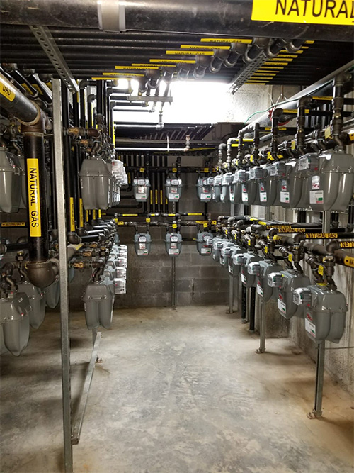 Commercial Gas Piping